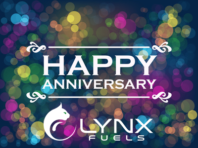 Lynx Fuels Celebrate their One-Year Anniversary!