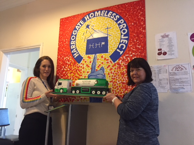 Lynx Fuels Proud to Donate to The Harrogate Homeless Project