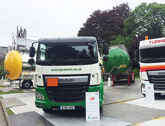 Lynx Fuels Showcase Latest Fuel Tanker at TIP-ex 2016!