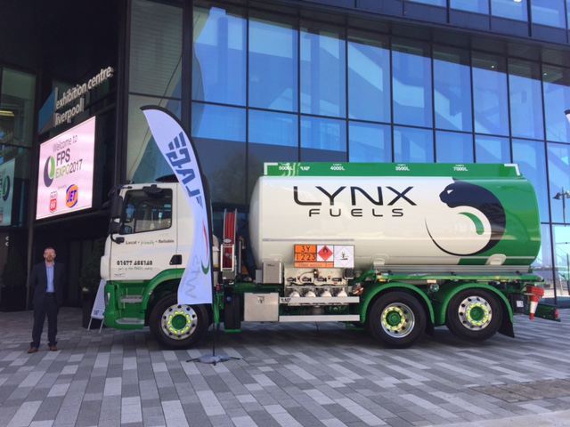 Lynx Fuels Launch New State Of The Art Tanker at the FPS Expo 2017