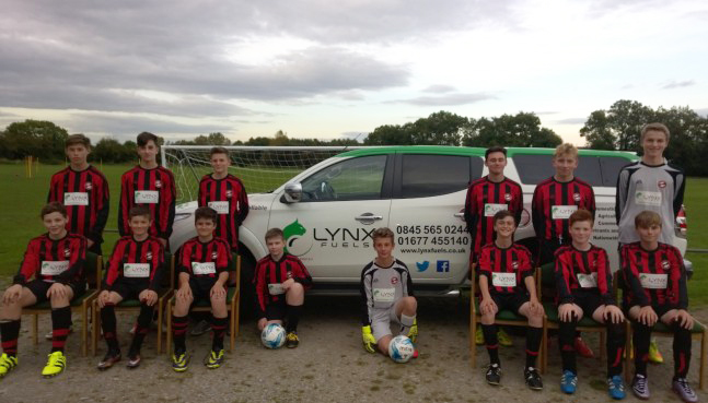 Lynx Fuels Are Proudly Sponsoring Ripon Panthers U14s Junior Football Team!